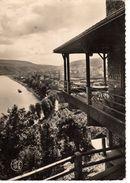 08----FUMAY---hôtel Des Rochers--la Meuse Vue Des Terrasses--voir 2 Scans - Fumay