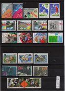 Netherlands 1991, 8 Complete Sets, MNH. Cv 16,50 Euro - Unused Stamps