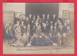 220072 / Old Real Original Photo - STUDENTS AND TEACHERS - Bulgaria Bulgarie Bulgarien Bulgarije - Professions