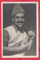 220074 / Old Real Original Photo - MUSIC MAN Mandolin, Mandoline   - Bulgaria Bulgarie Bulgarien Bulgarije - Anonymous Persons