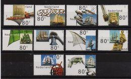 Netherlands 2000, Ships Complete Set, MNH. Cv 13 Euro - Unused Stamps