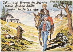 Cartolina Postale Nuova IMAGES DE CHEZ NOUS - N°1306  Illustratore CANOVA - Illustrateurs & Photographes