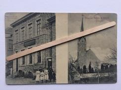 GRUSS AUS WALHORN BEI ASTENET(salutations De WALHORN à ASTENET ) Paroisse,cimetières,Local Schumaghers,(1903)nº 832. - Lontzen