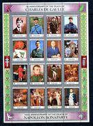 Thème Général De Gaulle - Bloc Feuillet Complet MANAMA Yvert 88 & 89 + PA 101 & 102 - Neuf Xxx - GFDG 69 - De Gaulle (General)