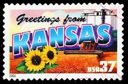 Etats-Unis / United States (Scott No.3711 - Greetings From America - 37¢) [o] Very Fine - United States