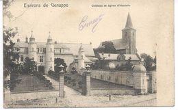 Environs De Genappe  Château Et église D'Houtain. - Genappe
