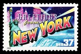 Etats-Unis / United States (Scott No.3727 - Greetings From America - 37¢) [o] Very Fine - United States