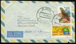 BR Brasilien, Belo Horizonte - 1981 Luftpost Brief Nach BRD, Göttingen - Luftpost