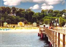 Ostseebad Goehren Strand, Seebruecke, Sea Bridge Promenade Beach Insel Ruegen - Deutschland