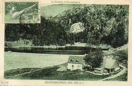 CPA - Environs De MUNSTER (68) - Aspect De La Ferme-Auberge Du Lac Du Schiessrotried En 1924 - Other Municipalities