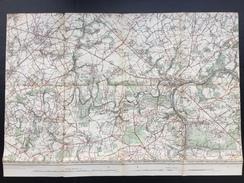 Topografische En Militaire Kaart STAFKAART 1905 Namur Jemeppe Profondeville Fleurus Spy Malonne Champion Dave Lustin - Topographical Maps