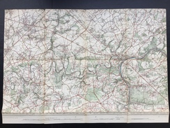 Topografische En Militaire Kaart STAFKAART 1905 Namur Jemeppe Profondeville Fleurus Spy Malonne Champion Dave Lustin - Cartes Topographiques