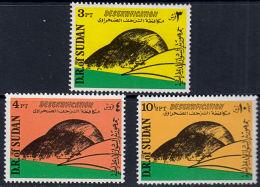 B0717 SUDAN  1978, SG 389-81  UN Conference On Desertification,  MNHloping Countries,  MNH - Sudan (1954-...)