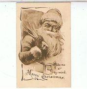 PERE  NOEL  SANTA CLAUS   TBE   1G 863 - Santa Claus