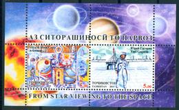 Tajikistan 2015 Space Gagarin Abu Ali Ibn Sina Bl. S/S MNH - Tayikistán