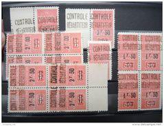 ALGERIE FRANCAISE - Superbe Lot De Colis Postaux - Luxes - 12 Plaquettes - Pas Courant Dans Cette Qualité - P16301 - Parcel Post
