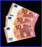 """""""UF"""" FRANCE  Firma DRAGHI  U012 I6  CH 31  LAST POZITION UNC !!!!!! - 10 Euro"""