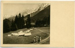 Camp D'Eclaireuses Ainées En Savoie - Scoutisme