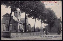 Sint Pauwels (Waas) - Kerk - 1908 - Moerbeke - Sint-Niklaas - NIET COURANTE UITGAVE - Belgique