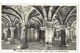 RENAIX - Crypte Eglise Saint-Hermès - RONSE - Crypte Van Sint-Hermeskerk - Ronse