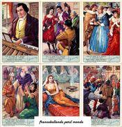 Chromo Liebig Sang. 1839 ITA Vita Ed Opere Di G. Rossini ANNO 1969 - Liebig