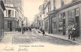 PRE ST GERVAIS - Rue De La Villette - Maison BLONDIAU, Café, Vins - France