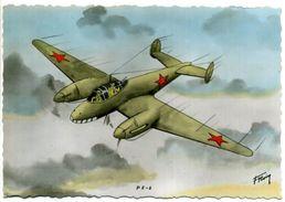 P.E. 2 - Avion De Combat - Bombardier Léger - 1939-1945: 2ème Guerre