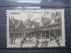 "VEND BEAU TIMBRE DE FRANCE N° 499 , CACHET A CERCLE TIRETE "" COUY "" "" !!! - Used Stamps"