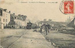 CANCALE-la Houle Et Le Tramway (attention état) - Cancale
