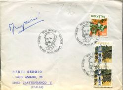 28453 Switzerland, Special Postmark 1978  150 Year Henri Dunant, Red Cross  Rotes Kreuze - Henry Dunant