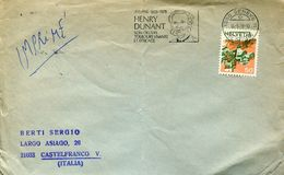 28454 Switzerland, Special Postmark 1978  Geneve 150 Year Henri Dunant, Red Cross  Rotes Kreuze - Henry Dunant