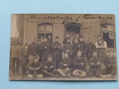 Peloton Militairen / Soldaten ( NO ID ) 1914 ( Foto ? : Zie Foto Details ) ! - Guerre, Militaire