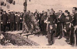 """CPA 62 CALAIS Inauguration Du Monument Aux Victimes Du """" PLUVIOSE """" 22 JUIN 1913 - Calais"""