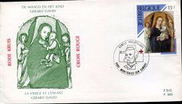 28456 Belgium Special Postmark 1989   Henri Dunant, Red Cross  Rotes Kreuze - Henry Dunant