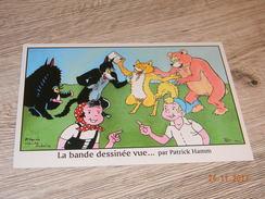 Carte Postale Illustrateur Patrick Hamm  Bande Dessinée Vue Par P. Hamm Hommage à Sylvain & Sylvette M. Cuvillier - Hamm