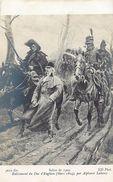 Tableaux -ref 501 - Arts -tableaux -peinture - Peintre Alphonse Lalauze - Enlevement Du Duc D Enghein-mars 1804  - - Malerei & Gemälde