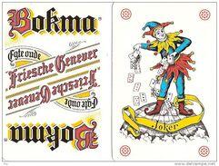 Amsterdam    Oud Spel Van 52 Speelkaarten BOKMA  - Ancien Jeu De 52 Cartes à Jouer BOKMA - Publicité