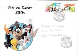 Enveloppe Souvenir Fête Du Timbre 2009 - Autres