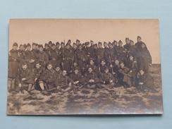 Peloton - Escadron / Militairen / Soldaten ( NO ID ) 19?? ( Foto ? : Zie Foto Details ) ! - Guerre, Militaire
