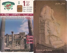 TARJETA TELEFONICA DE JORDANIA (CHIP). (480) - Jordan