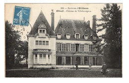 45 LOIRET - OLIVET Château De Villebourgeon Et Son Personnel - Other Municipalities