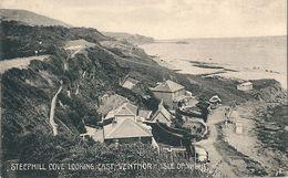 Isle De Wight  STEEPHILL COVE LOOKING  EAST  VENTNOR - Ventnor
