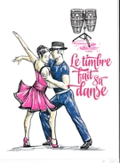 Carte Souvenir Fête Du Timbre 2014 - Autres