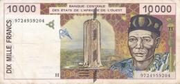 BILLETE DE NIGER DE 10000 FRANCS DEL AÑO 1997  (BANKNOTE) - Niger