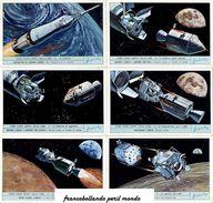 Chromo Liebig Sang. 1847 ITA Come Siamo Andati Sulla Luna I ANNO 1971 - Liebig