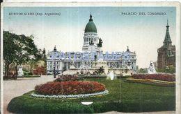 82153 ARGENTINA BUENOS AIRES PALACIO DEL CONGRESO WINDOWS 8 OCHO MINI PHOTO POSTAL POSTCARD - Argentina