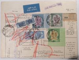 Libya Parcel Card High Franking TRIPOLI 1964 > Italia With PACCHI POSTALI (cover Lettre Lettera Regno Unito Della Libia - Libia