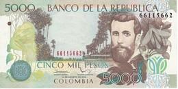 BILLETE DE COLOMBIA DE 5000 PESOS DEL AÑO 2012  (BANKNOTE) - Colombia
