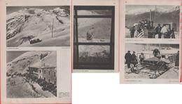 Slittovia Del Maniva E Di Salice D'Ulzio - Rivista 1938 - Other Collections