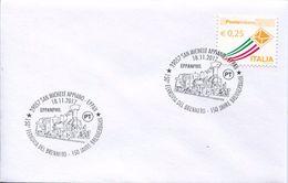 28474 Italia, Special Postmark 2017  Eppan San Michele Appiano Ferrovia Brennero, 150 Jahre Brennerbahn - Treni